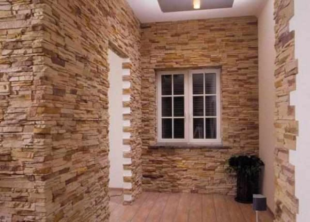Внутренняя отделка стен своими руками: декоративная штукатурка