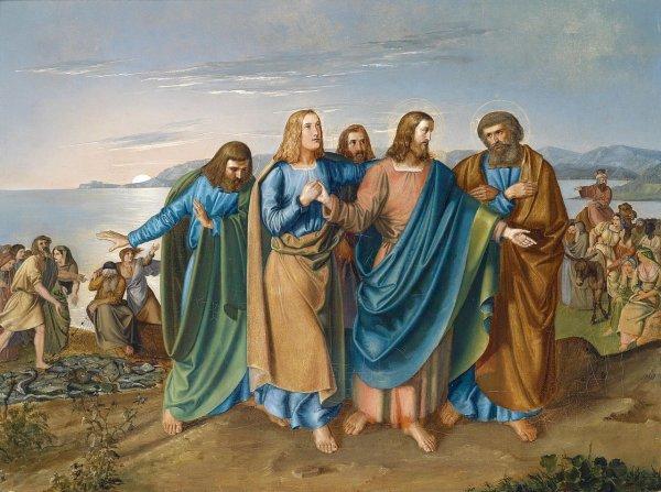 Эксперты: У Иисуса Христа было 12 женщин-учеников