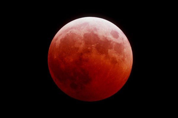 Воронежский астрофотограф показал невероятные снимки кровавой Луны