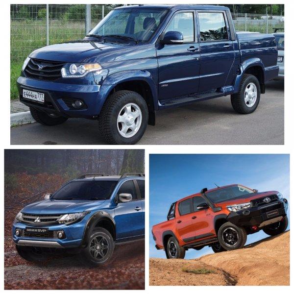 Toyota Hilux на рынке пикапов России уступила лидерство УАЗ «Пикап»