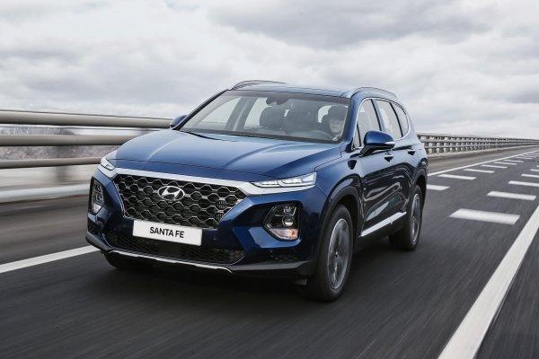 Для России озвучен прайс на новый Hyundai Santa Fe