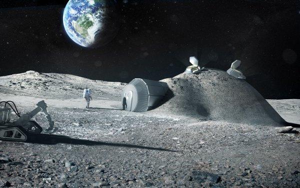 Ученые назвали лучший материал для строительства сооружений на Луне