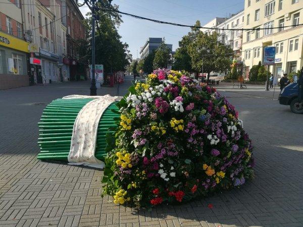 Жители Челябинска просят снести поющий голосом Бузовой букет