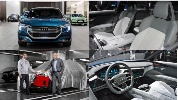 В Брюсселе дан старт серийному производству электрического кроссовера от Audi