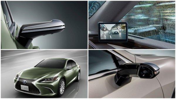 Lexus ES оснастят камерами вместо зеркал заднего вида