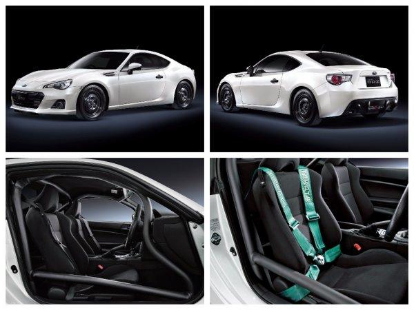Subaru выпустила спорткупе Subaru BRZ в новой версии RA Racing