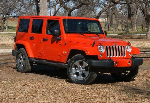 Jeep отзовет 18 000 внедорожников Wrangler