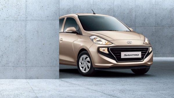 В сети представили хэтчбек Hyundai Santro