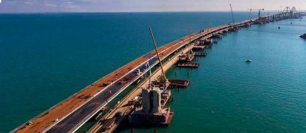Крымский мост подготовили к зиме