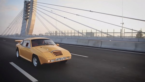Если бы Lamborghini делали в СССР: В сети показали советский суперкар из 80-х