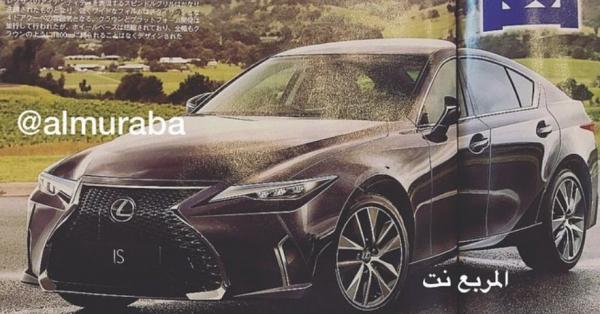 Рендеры нового седана Lexus IS появились на обложке журнала
