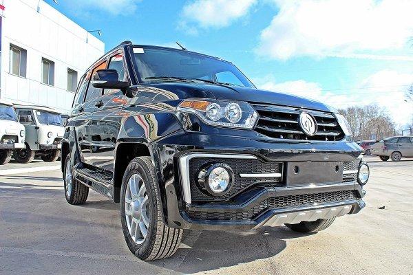 «УАЗ» представил «плуг» на внедорожнике УАЗ «Патриот».