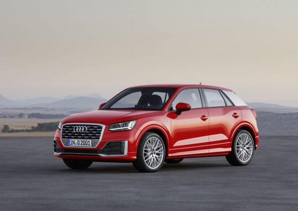 В Китай приехал удлиненный Audi Q2L