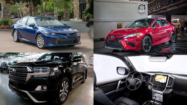 Российские продажи Toyota в сентябре выросли на 48%