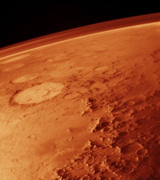 Ученые выяснили, как на Марсе появились гигантские речные каньоны