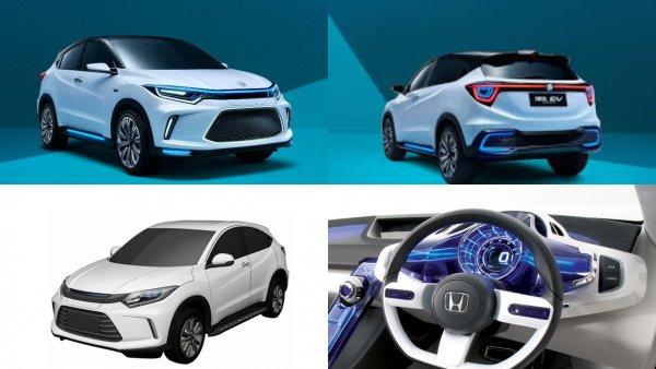 Кроссовер Honda HR-V выйдет в новейшей модификации под другим брендом