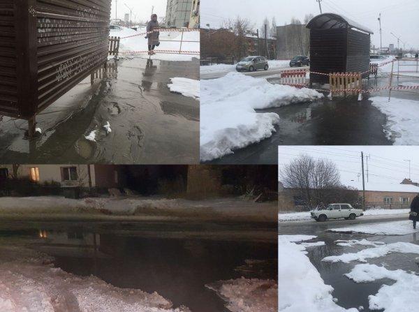 Фекальная аномалия: В Бердске в канализационных стоках утопает улица Рогачева