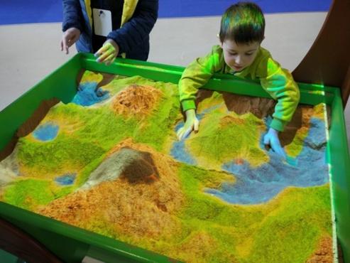 Для маленьких тюменцев создали «интерактивную песочницу»