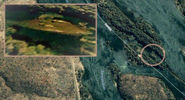 Уфологи: Инопланетный НЛО разбился об воду реки Замбези