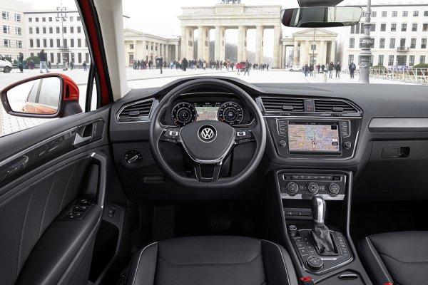 В России отзывают более 4 тысяч кроссоверов Volkswagen Tiguan