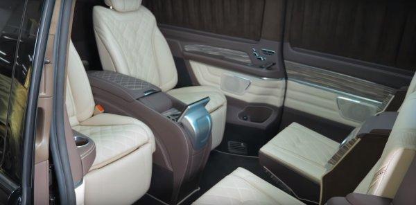 «Забудьте про Майбах»: О шикарном Mercedes-Benz V-Class рассказал эксперт