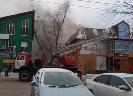 В Тюмени озвучили причину пожара в ресторане