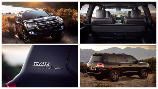 Toyota представила юбилейный внедорожник Land Cruiser Heritage Edition