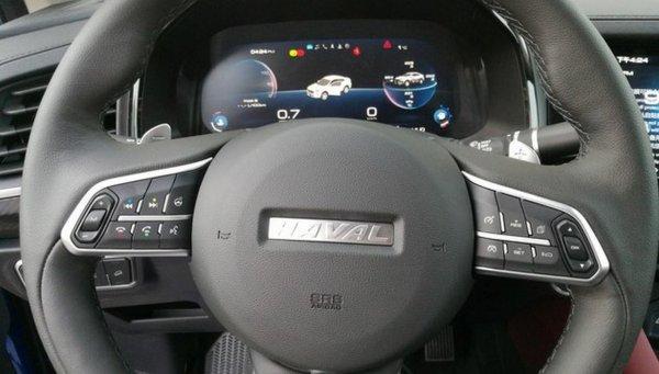 Кросс-купе Haval F7x от Great Wall представят в марте