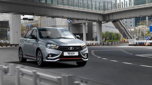 «АвтоВАЗ» оценил новую LADA Vesta Sport дороже миллиона
