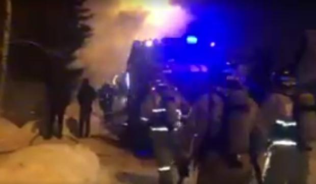 Один с ранами, другой с ожогами и трое погибли: в Тюмени сгорел жилой дом