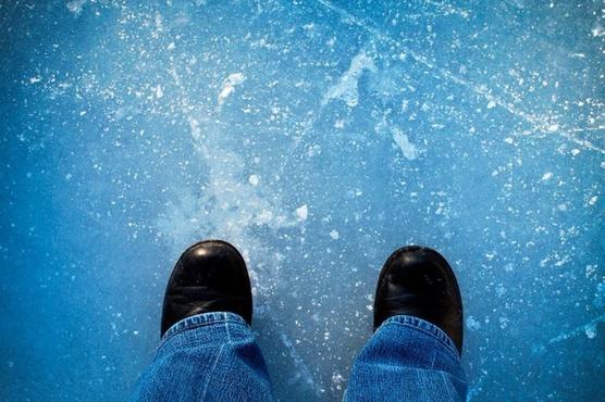 Ученик 9-го класса спас ребенка, провалившегося под лед