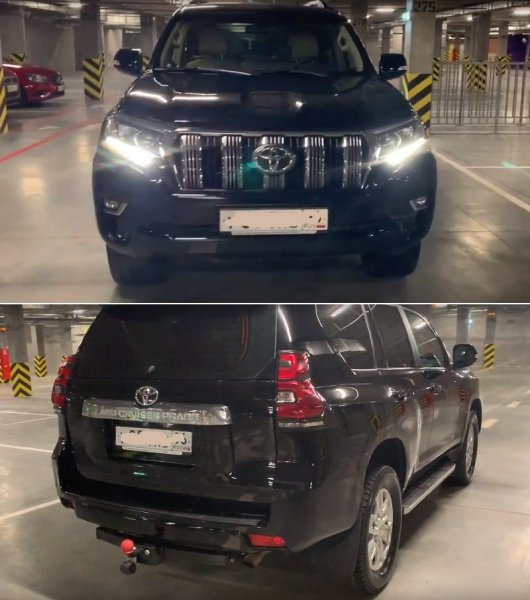Русские могут всё: Умелец «обновил» свой Toyota Land Cruiser Prado 2012 до 2018-го года