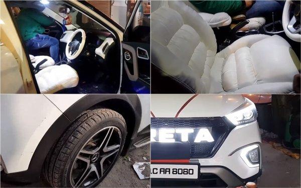 Люкс вместо «бюджета»: Ультрароскошный Hyundai Creta поразил сеть