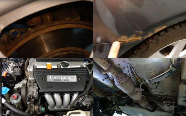 Ожидание и реальность: В каком состоянии будет 14-летний Honda Accord со «вторички» показал блогер