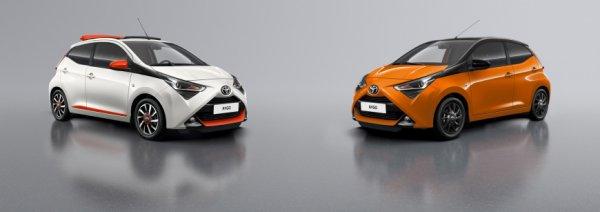 Представлена спецверсия Toyota Aygo