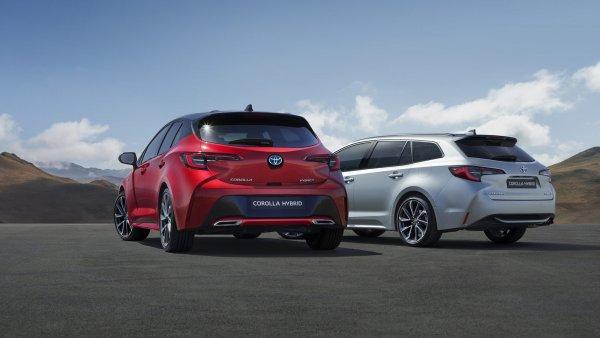 Рестайлинговая Toyota Corolla получит две новых модификации