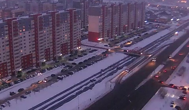 Погода в Тюмени 19 февраля: небольшой снег и штиль