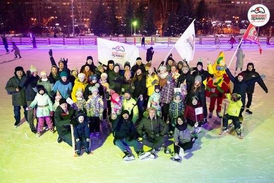 Вечеринка на льду в честь Дня рождения