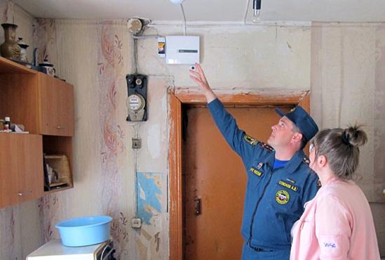 Житель Кургана поджег дверь квартиры бабушки своей супруги