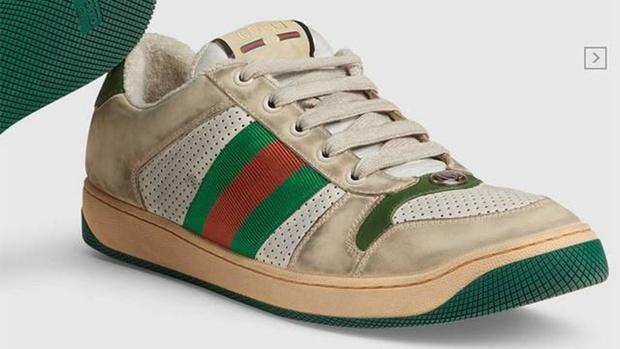 Новый писк моды – грязные кроссовки