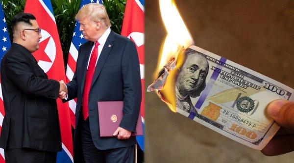 Хаос и разрушение: В 2020 году ожидается экономический коллапс из-за войны КНДР и США