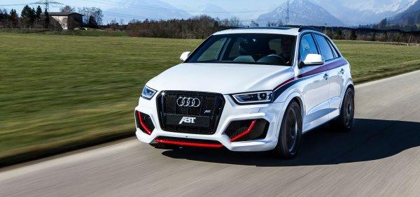Компания Audi начала дорожные тесты нового кроссовера RS Q3