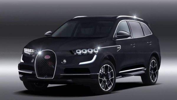 Bugatti планирует выпустить соперника для Bentley Bentayga и Lamborghini Urus