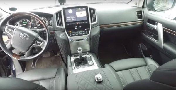 «На рыбалку – с комфортом!»: Тюнингованный Toyota Land Cruiser 200 впечатлил сеть