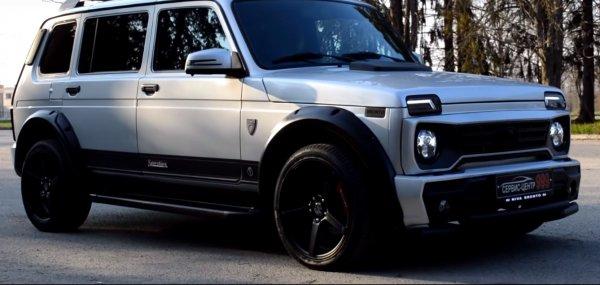 «Нива» за 1,5 млн: Тюнеры показали самую «богатую» LADA 4x4 Bronto