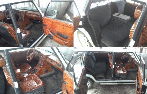 «На задние крокодилов не хватило»: Сеть ошарашил «убийца» Bentley – «зверски» тюнингованный ВАЗ-2104
