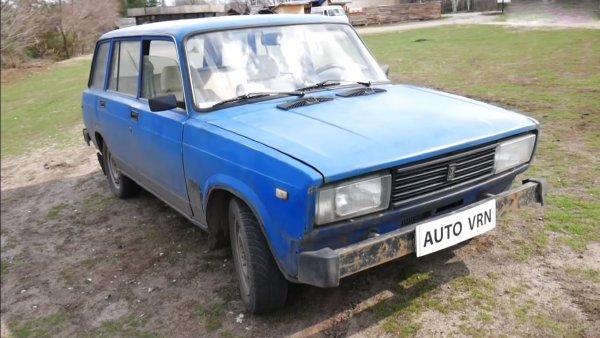 «Убийца иномарок»: Бешеный ВАЗ-2104 с мотором от «Супры» впечатлил блогеров