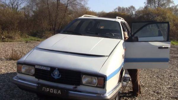 Кузов от Passat, двигатель от «Волги»: Изобретатель собрал самодельную машину-амфибию «Дельфин-2»