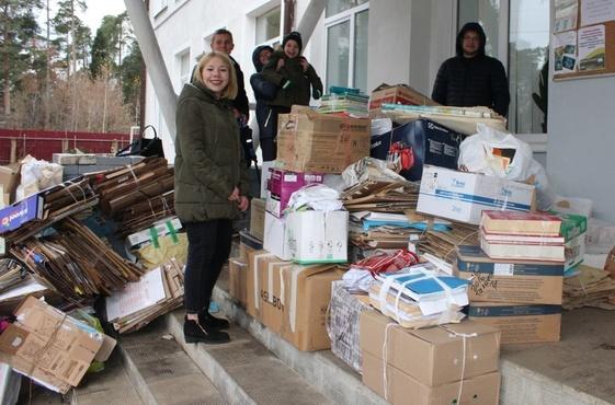Тюменцам предлагают обменять макулатуру на саженцы