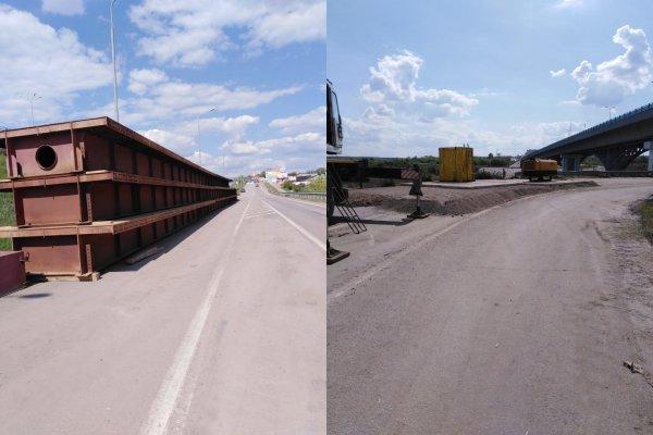 Металл от Крымского моста: На М4 «Дон» построят временную переправу через Северский Донец